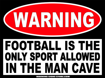Man Cave Football Sale