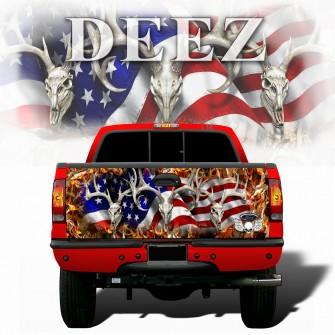 American-Buck-Obliteration-Buck-Blaze-Tailgate-wraps