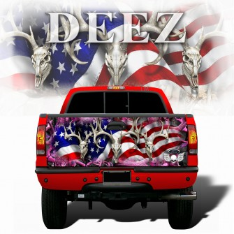 American-Buck-Obliteration-Pink-Tailgate-wraps-deez2-
