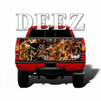 Bow-Reaper-Obliteration-Buck-Blaze-Camo-Tailgate-wraps-deez-